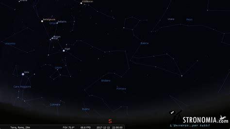 gua del cielo 2017 il cielo nel mese di dicembre 2017 astronomia com