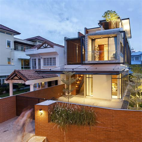 semi detached house  singapore connects