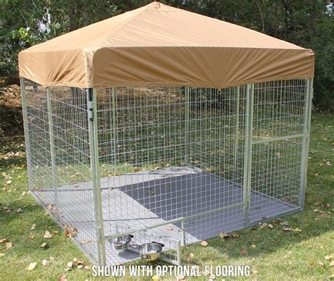 10 x 10 ft plastic kennel floor kennel deck prices advantek pet gazebo modular outdoor