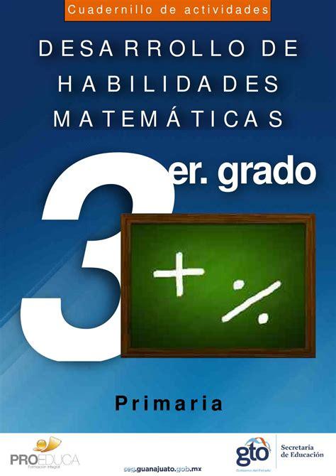 issuu coco libro de matematicas primer grado de secundaria cuadernillo de desarrollo de habilidades matematicas 3er