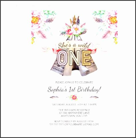 zazzle greeting card template 6 1st birthday card template sletemplatess