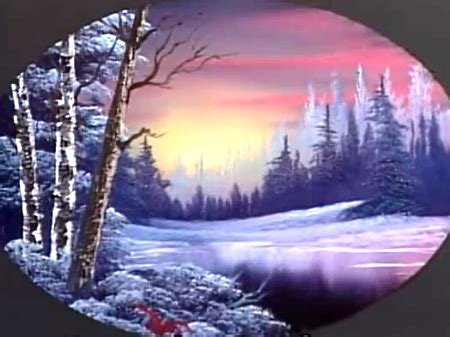 bob ross painting on black gesso twilight the of painting s27e1