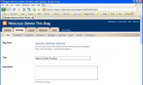 blogger delete blog the real blogger status please blogger restore my