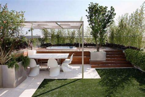 terrazza giardino giardino pensile sul terrazzo