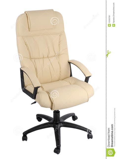 Leather Office Armchair by Office Armchair Of Leather Stock Image Image 12332781
