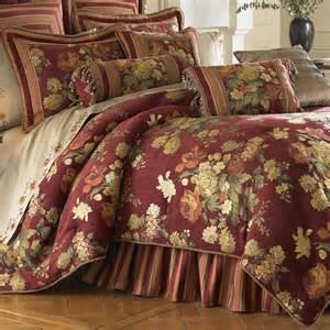 7 best images of burgundy floral bedspread burgundy