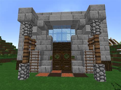 Minecraft Construire Une Maison 1919 by Bien Jouer 224 Minecraft Cr 233 Er Un Fa 231 Ade De Maison
