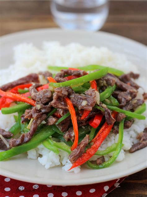 Todays Special Stir Fried Peking With Peppers And Green Beans by Stir Fried Beef With Green Peppers China Sichuan Food