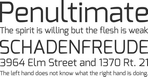 exo font exo font free by natanael gama 187 font squirrel