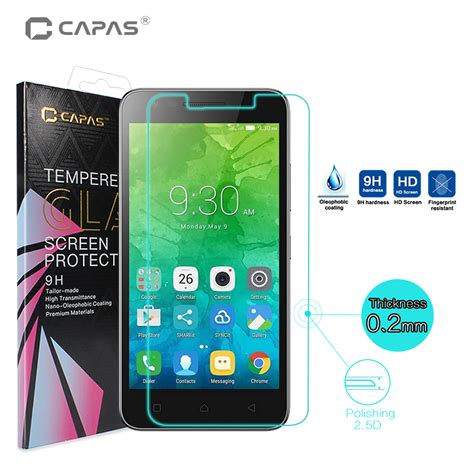 Tempered Glass Screen Protector Handphone Lenovo Vibe C A2020 screen protector for lenovo c2 k10a40 tempered glass for vibe c2 original capas ultra slim