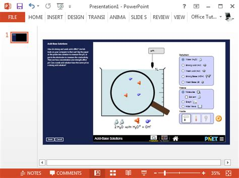 Phet Powerpoint Add In Provides Free Science Math Simulations Interactive Html5 Website Templates