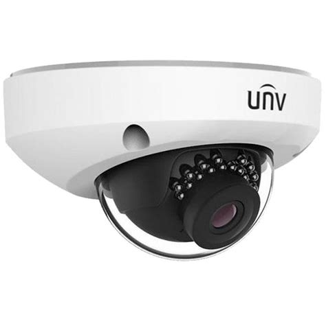 Cctv Unv 4mp 2 8mm fixed lens external dome mic cctv direct