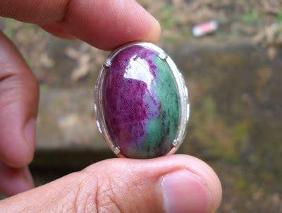 Akik Ruby Tanzania koleksi batu antik rb04 ruby tanzania two color