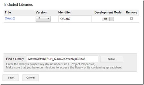 blogger api setting up oauth2 access with google apps script blogger