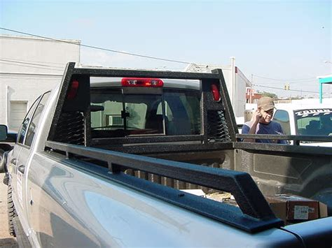 dodge ram back rack heavy duty headache rack tough country bumpers