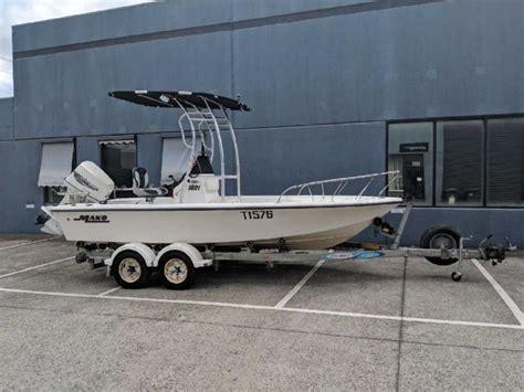fish ski boats australia mako inshore center console fish ski boat for sale in