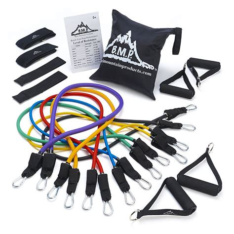 resistance band ultimate resistance band set black mountain products