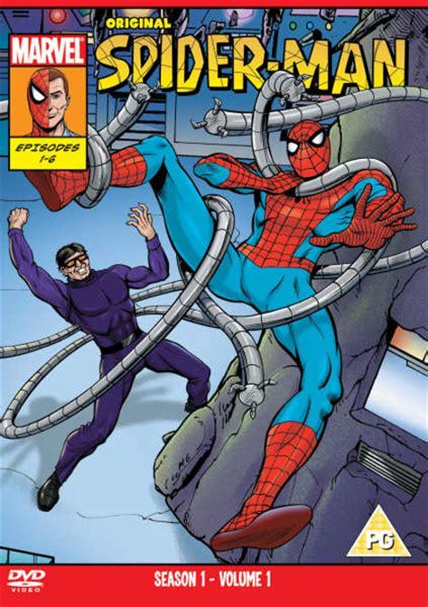 original bliss series 1 original spider series 1 vol 1 dvd zavvi