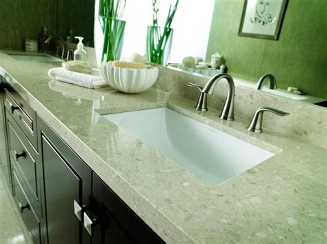 bathroom counter ideas choosing bathroom countertops hgtv