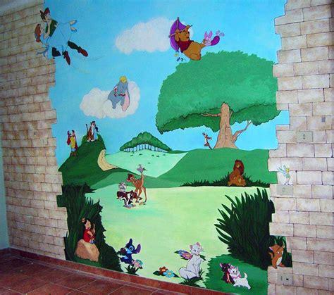 murales da interni decorazione d interni a roma realizzazione murales disney