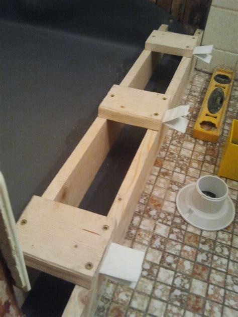 Shower Curb Construction by Shower Floor Repair Pan Liner Curb And Finish Coat