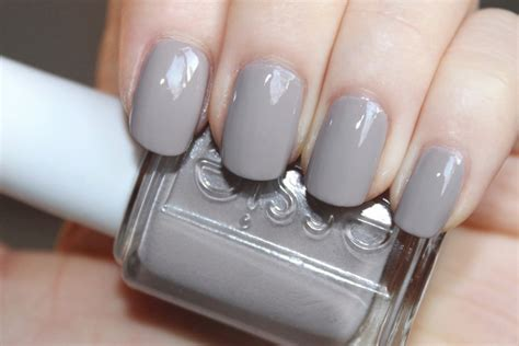 grey nail color thenotice essie master plan swatches review photos