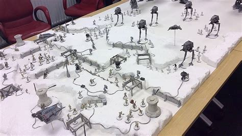 Table In Room by Reenact The Battle Of Hoth On This Epic Gaming Table Nerdist