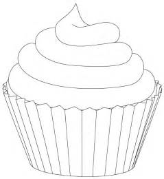 cupcake line drawing cliparts co