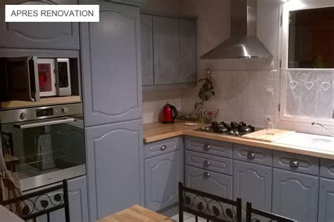 r駭ovation de cuisine r 233 nover une cuisine avec les plans de travail de