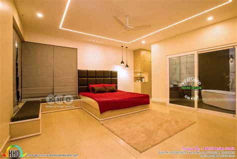 finished villa interiors designs kerala home design