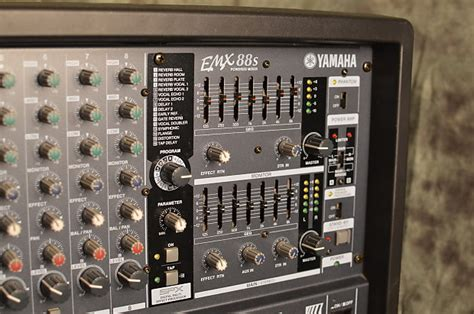 Power Mixer Yamaha 8 Channel yamaha emx88 s 8 channel 800w powered mixer reverb