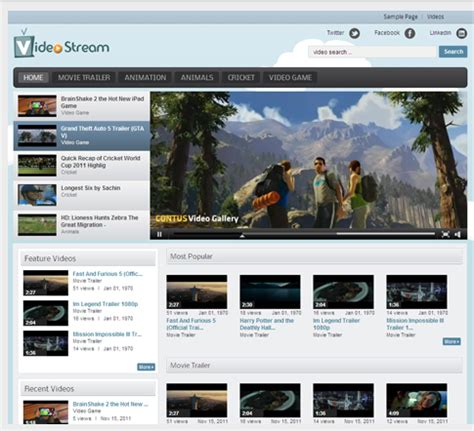 youtube gallery themes joomla video stream theme free for wordpress video gallery plugin