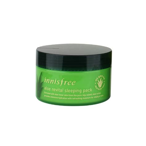 innisfree aloe revital sleeping pack 100ml free gifts ebay