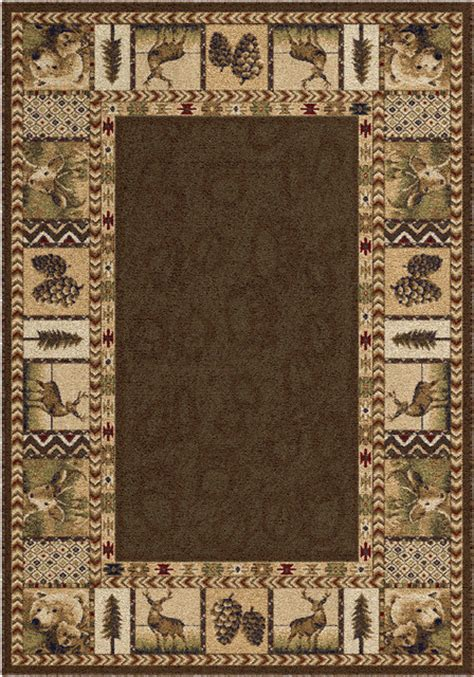 Orian Oxford High Country Sienna Area Rug Rustic Area Rustic Area Rugs