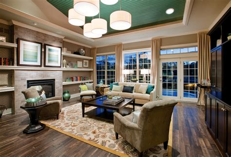 toll brothers living room the enclave at makefield luxury new homes in newtown pa