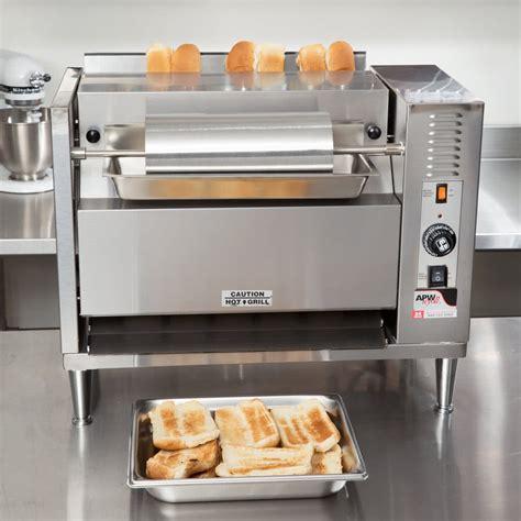 Bun Toaster apw wyott m 83 vertical conveyor bun grill toaster