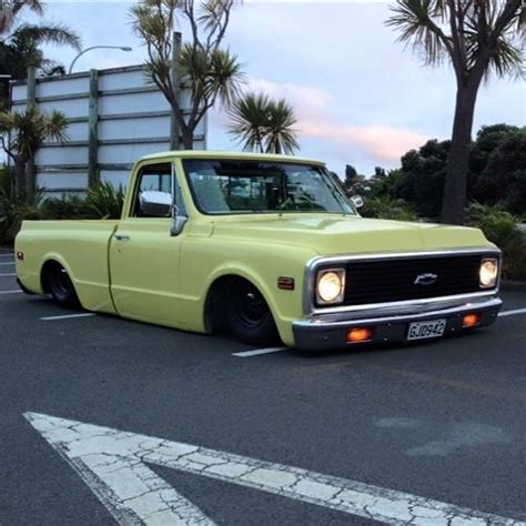 roling chevrolet wheels yeah the adamcope rolling his c10 1971