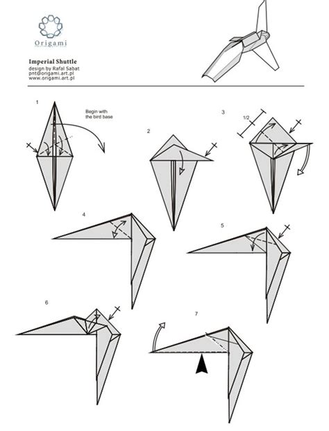 Starwars Origami - 77 best images about wars origami on x