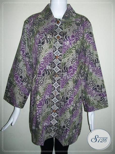 desain baju batik orang gendut 25 model baju batik untuk wanita gemuk modern terbaru