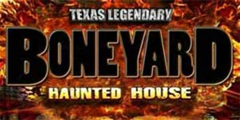 boneyard haunted house frightpass dallas haunted houses