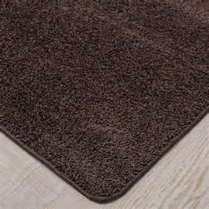 shaggy teppich braun shaggy teppich godiva braun 19 gr 246 223 e 140x200 cm