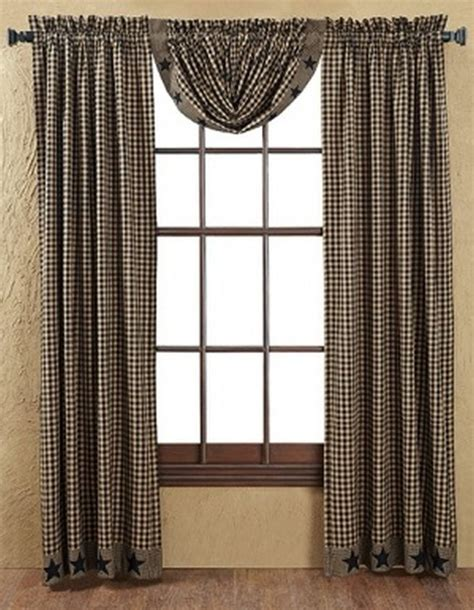 primitive decor curtains designing primitive window treatments