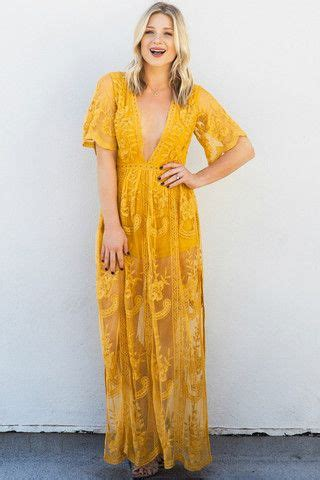 Yellow Lace Flower Dress Size Mlxl 12648 summer s top 10 trends the style bouquet