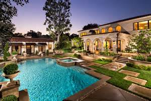 Mediterranean pool house california tuscany decor ideas landscaping