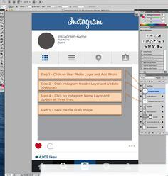 instagram layout rahmen free instagram frame party template in photoshop and