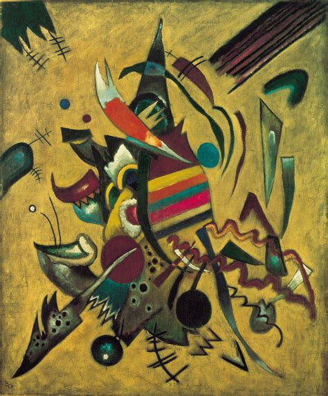 Drawing K On Style by Wassily Kandinsky