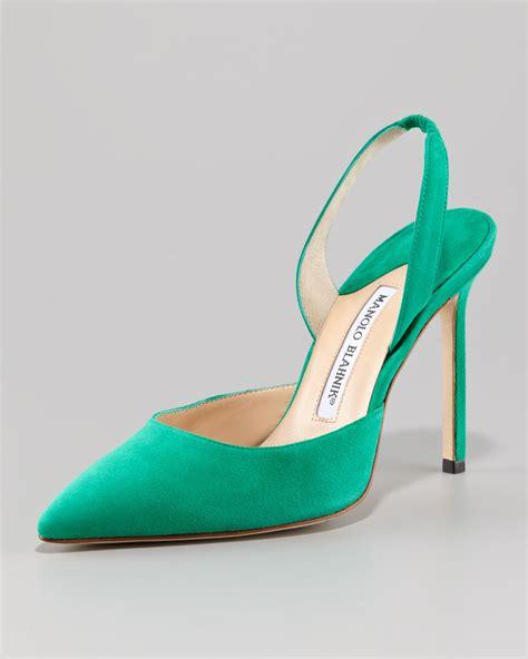manolo blahnik high heels manolo blahnik carolyne suede high heel halter