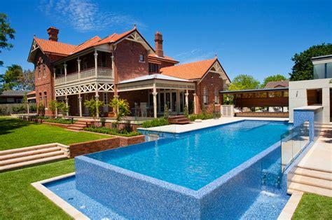 home lap pool fully tiled lap pool roseville crystal pools