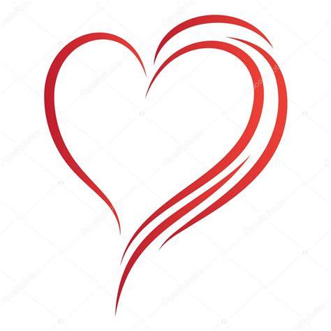 heart pattern logo heart logo stock vector 169 ivagora 7509622