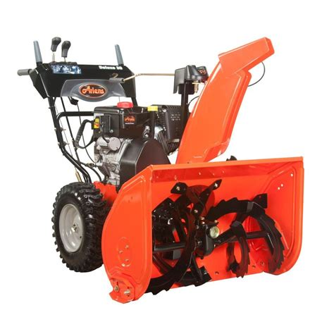 ariens deluxe 30 in 2 stage electric start gas snow